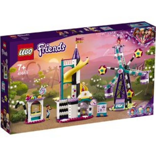 LEGO Friends Magical Ferris Wheel and Slide 41689 offer at $90