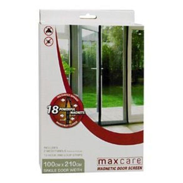 Maxcare Magic Door Screen 1 Pack offer at $12