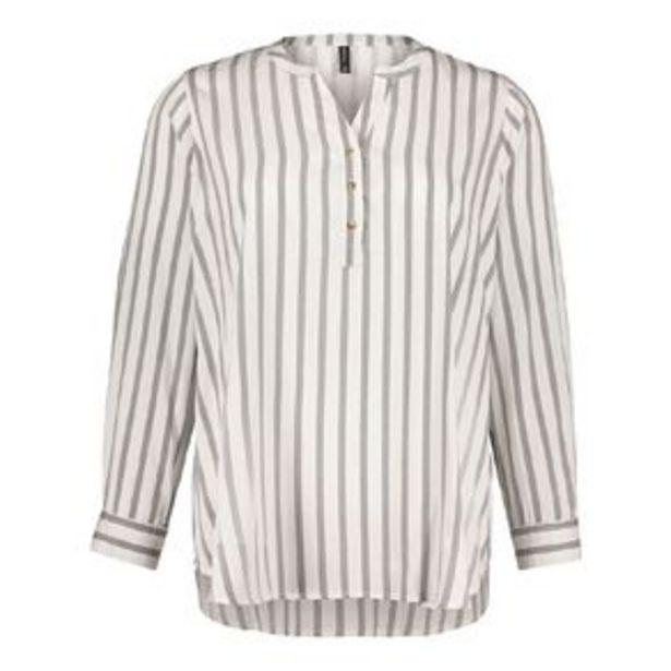 H&H Plus Women's 1/4 Placket Shirt offer at $16.98