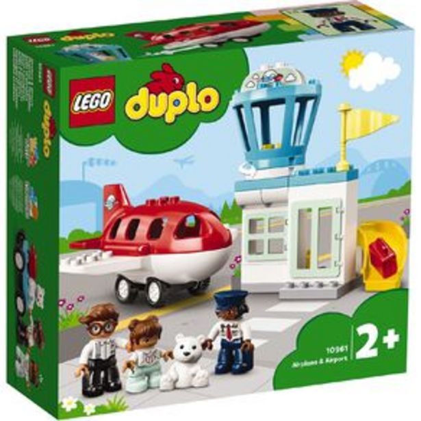LEGO DUPLO Airplane & Airport 10961 offer at $54