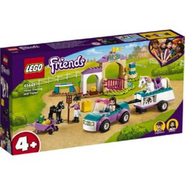 LEGO Friends Horse Training and Trailer 41441 offer at $45