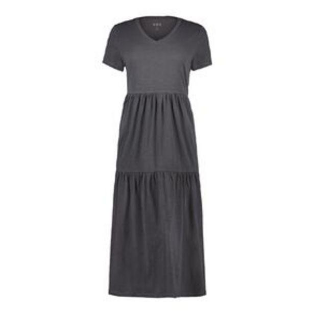 H&H Women's Slub Teired Midi Dress offer at $27