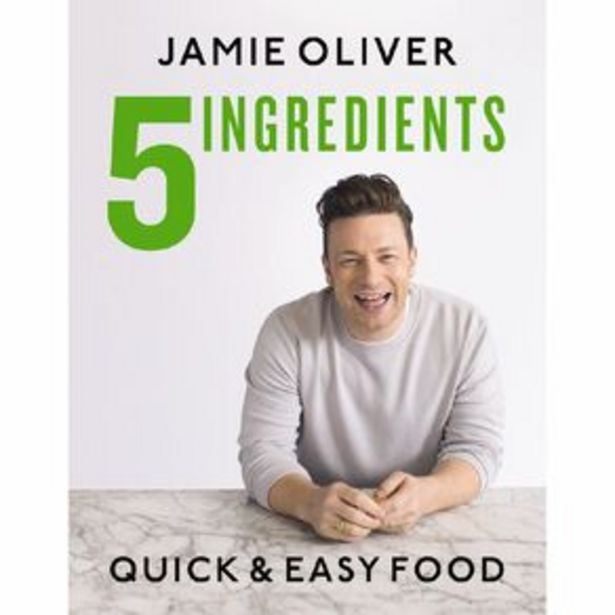 5 Ingredients: Quick & Easy Food by Jamie Oliver offer at $54