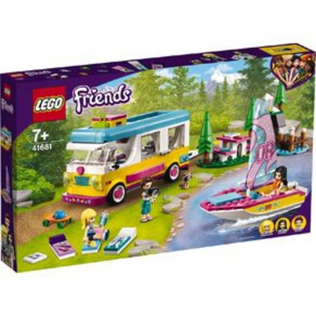 LEGO Friends Forest Camper Van and Sailboat 41681 offer at $81