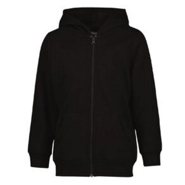 Young Original Plain Zip-Thru Hoodie offer at $5.98