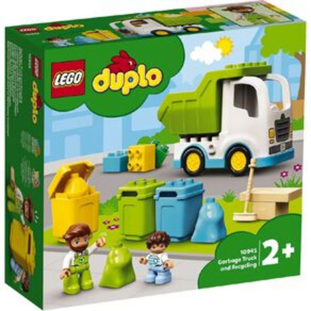 LEGO DUPLO Garbage Truck and Recycling offer at $31
