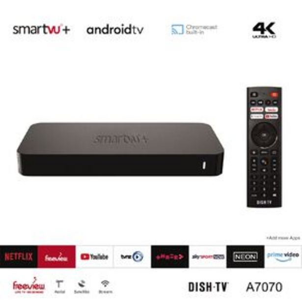 DishTV SmartVU+ Android TV Media Box A7070 offer at $189