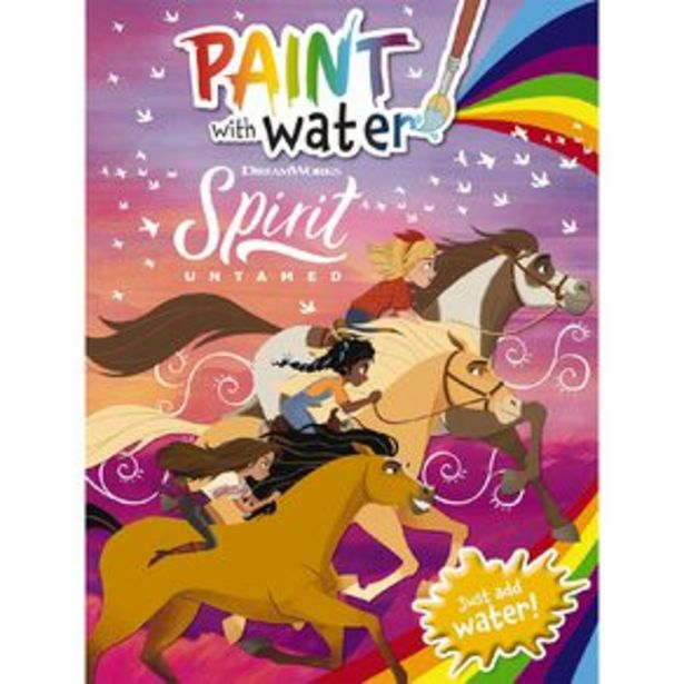 Spirit Untamed: Paint with Water offer at $6