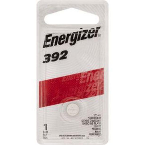 Energizer Silver Oxide Watch Battery 392BP1 1.5 Volt offer at $3