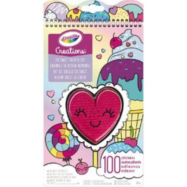 Crayola Creations So Sweet Sketch Set offer at $12.99