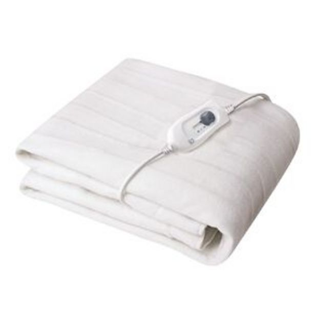 Living & Co Electric Blanket Tie Down Queen 150 x 155cm offer at $35
