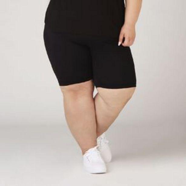 H&H Plus Women's Basic Legging Shorts offer at $12