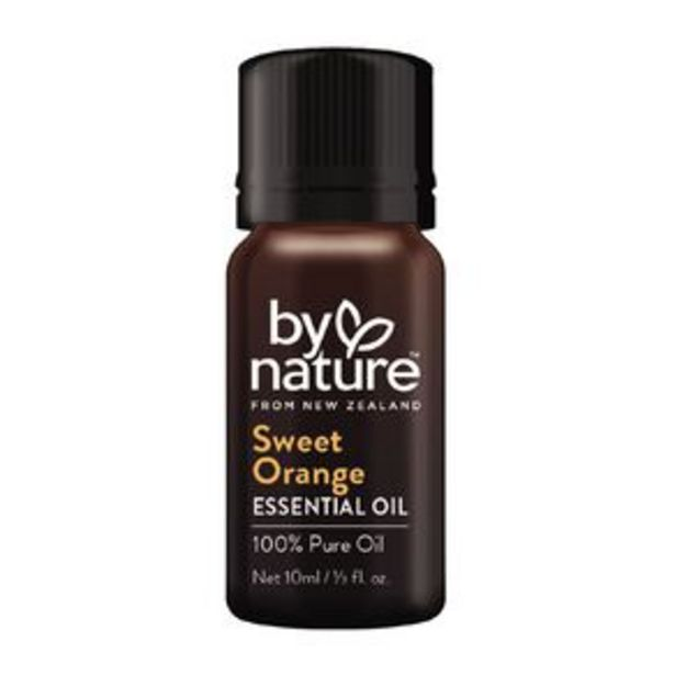 By Nature Essential Oil Sweet Orange offer at $7.5
