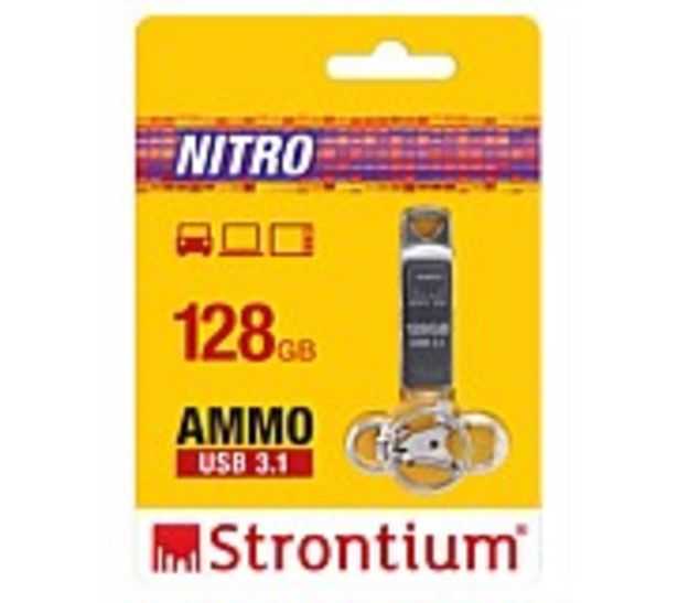 Strontium 128GB AMMO USB Drive offer at $59.99
