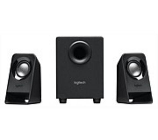 Logitech Z213 Compact 2.1 Speaker System offer at $64.99