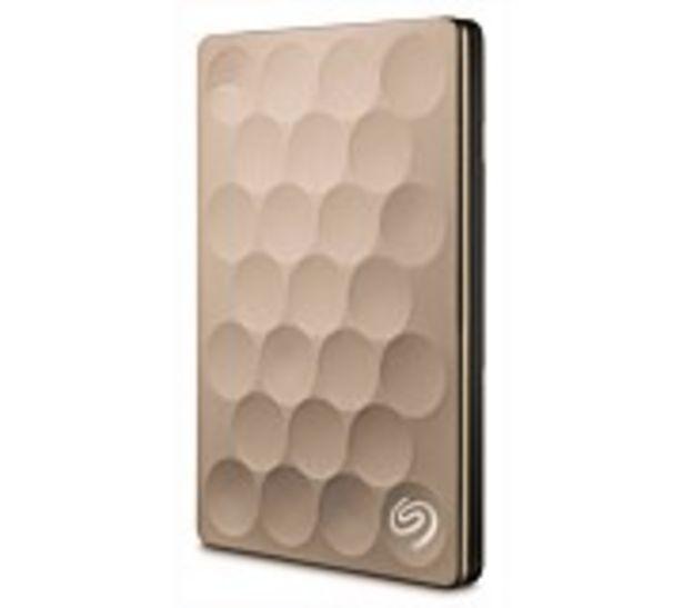 Seagate 1TB Backup Plus Ultra Slim Portable Drive offer at $139.99