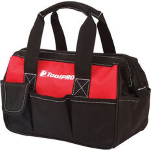 ToolPRO Tool Bag Little Mouth 250mm offer at $16.99