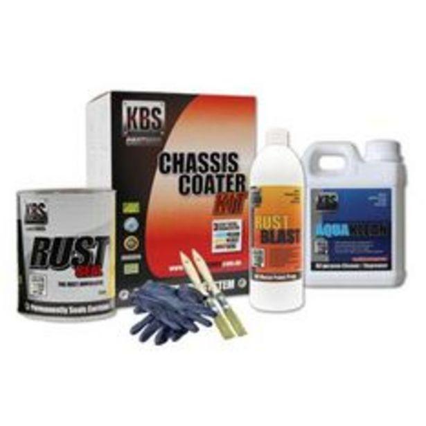 KBS Chassis Coater Kit For Full Size Car Or Ute Satin Black - 57002 offer at $149.99