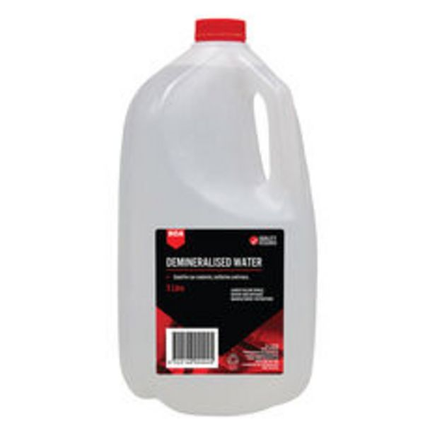 SCA Demineralised Water 5 Litre offer at $9.99