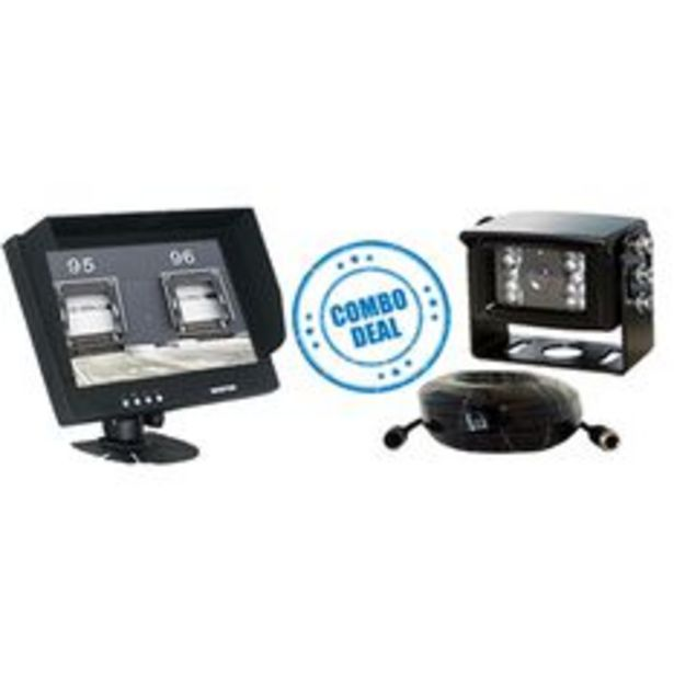 AVS Safety Range Bundle With Rm70C LCD Monitor, Rc52Pal Cam, 10M Cable - AVSRBW70C2 offer at $443