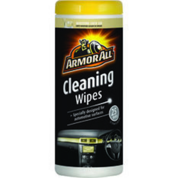 Armor All Cleaning Wipes 25 Pack offer at $7.99