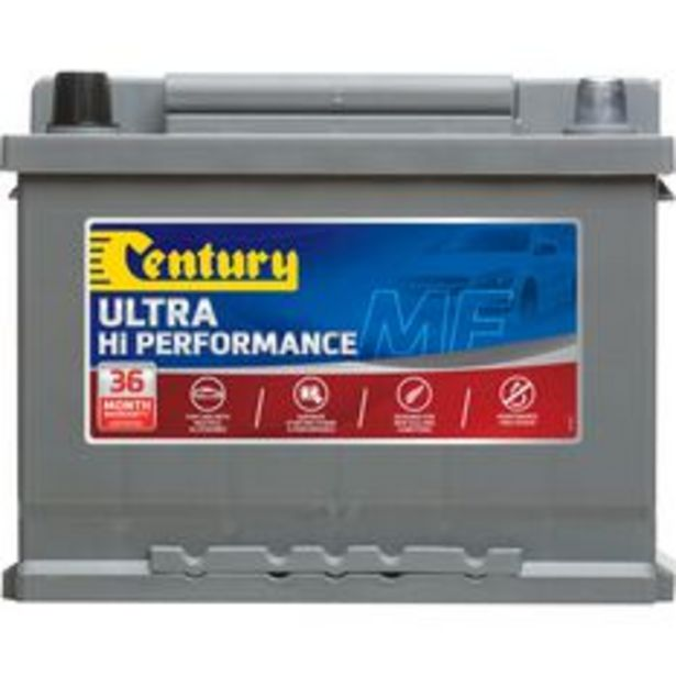 Century Car Battery  - DIN55ZLAGMF, 500 CCA offer at $269.99